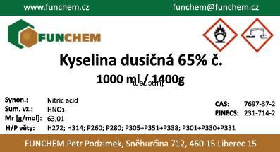 Kyselina dusičná cena