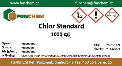 Chlor 1000 ml Standard
