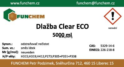 Dlažba clear ECO 5000 ml