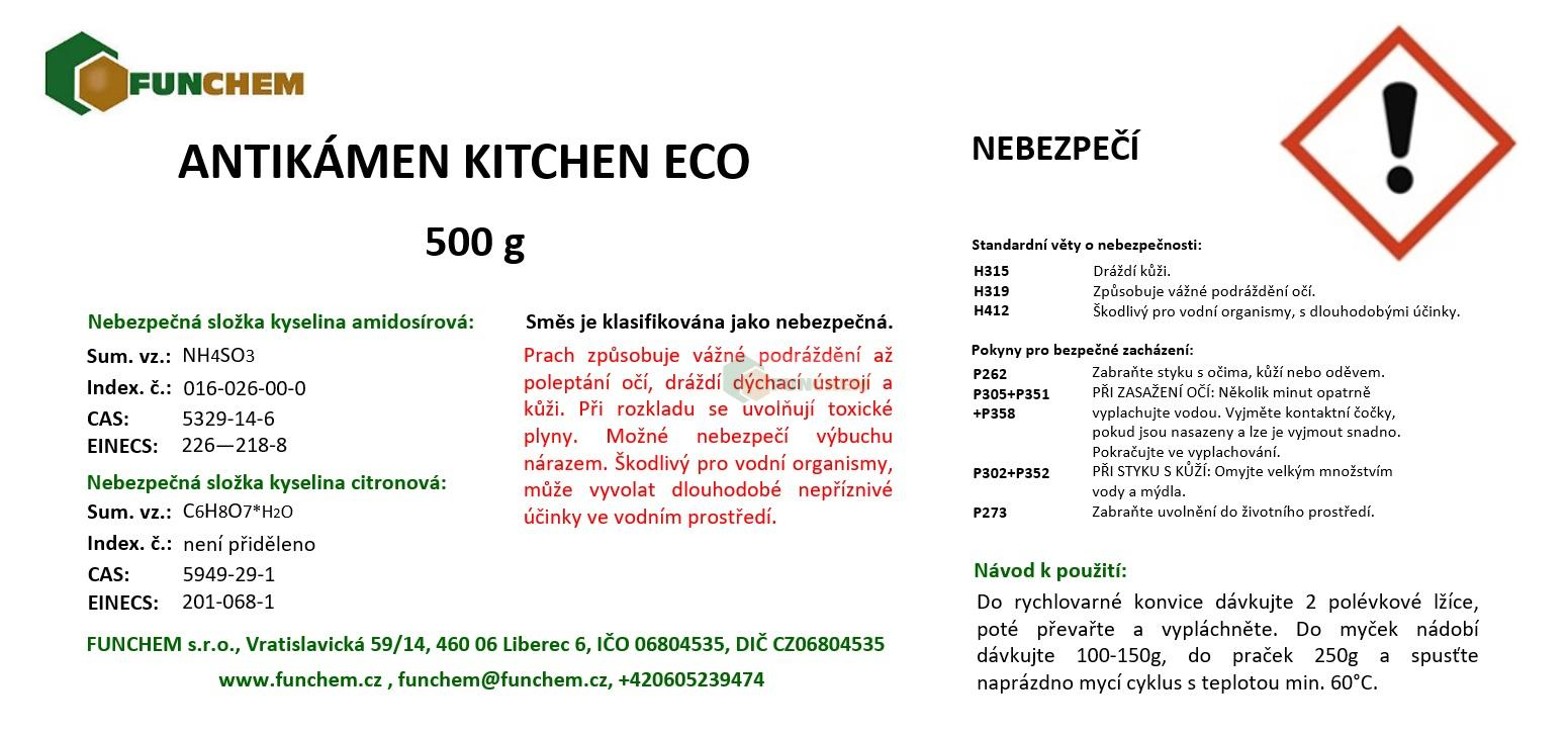 Antikámen kitchen 500 g ECO